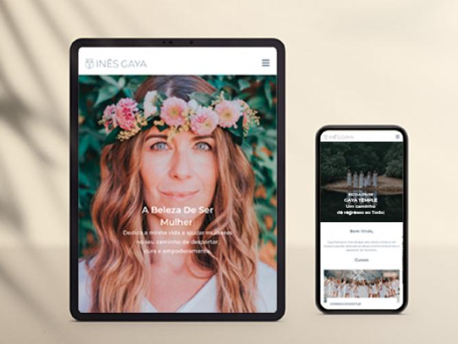 Ines-gaya-website-by-thedesigncreators